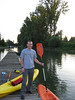 Kayaking on the Little Rhine :